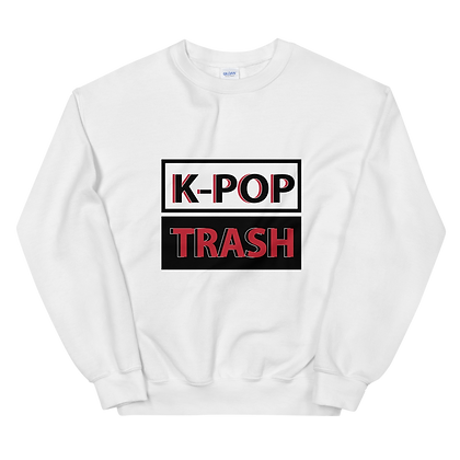 K-Pop Trash Crew Neck Sweatshirt