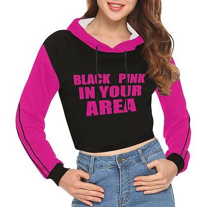 BLACKPINK In Your Area - Crop Hoodie