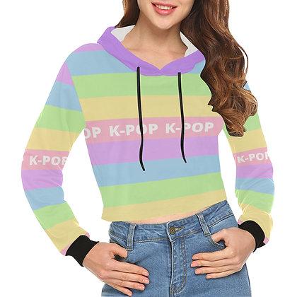 Pastel K-Pop - Crop Hoodie