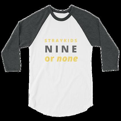 Stray Kids Nine or None Unisex Raglan Shirt