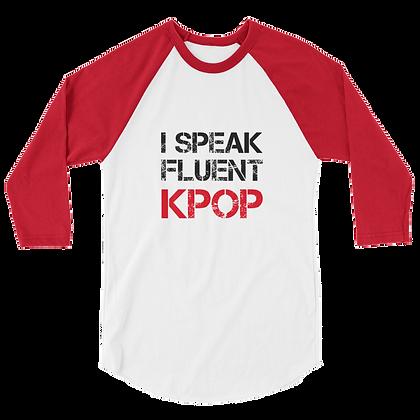 Fluent K-Pop Unisex Raglan Shirt