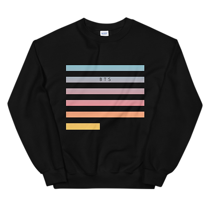 BTS Gradient - Crew Neck Sweatshirt
