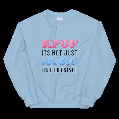 K-Pop Lifestyle Crew Neck Sweatshirt