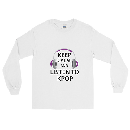 Listen to K-Pop - Long Sleeve T-Shirt