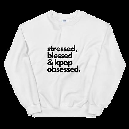 K-Pop Obsessed Crew Neck Sweatshirt