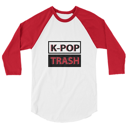 K-Pop Trash Unisex Raglan Shirt