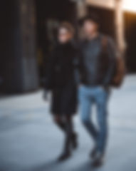 man-winter-girl-woman-road-leather-82419