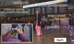 Показ в аэропорту Внуково
