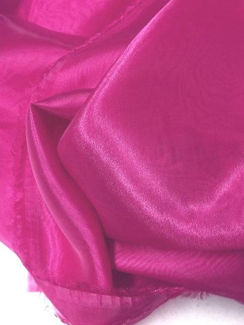 Organza cristal rosa