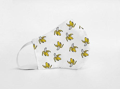 Mascarilla personalizable y lavable-Banana