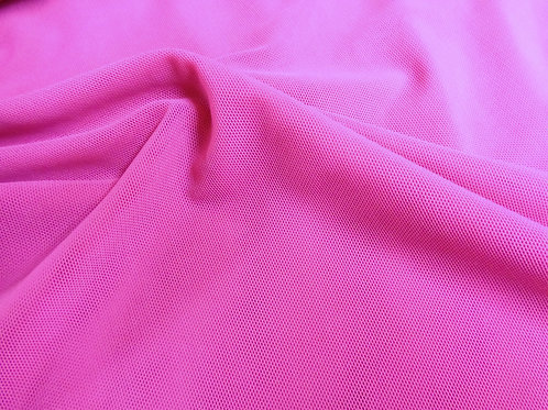 Rosa amaranto tul transparente