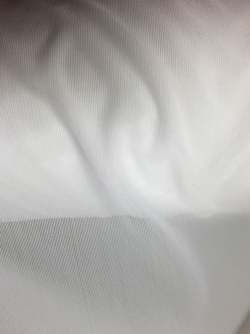 Blanco tul transparente