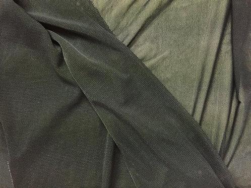 Negro tul transparente