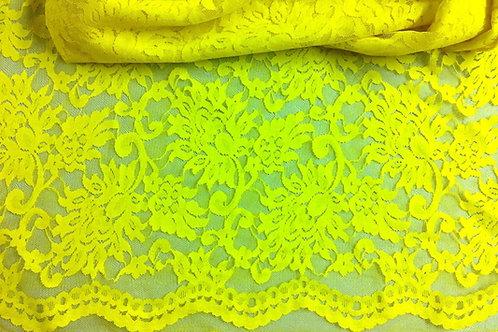 Amarilla limón blonda
