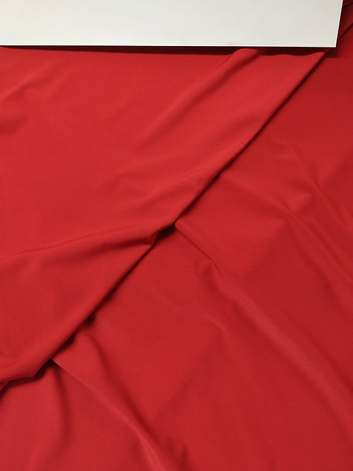 Lycra fría roja (punto lycra)