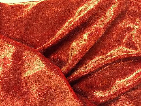 Terciopelo foil teja - retal