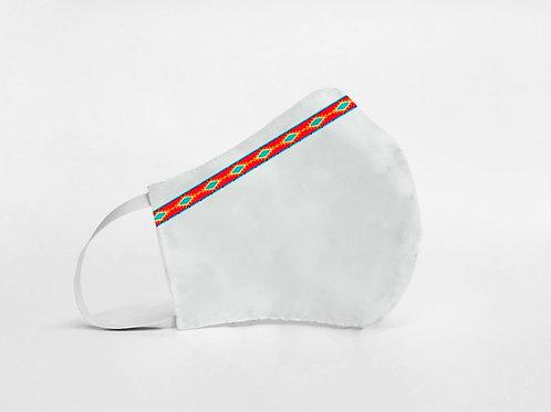 Mascarilla personalizable y lavable-Azteca