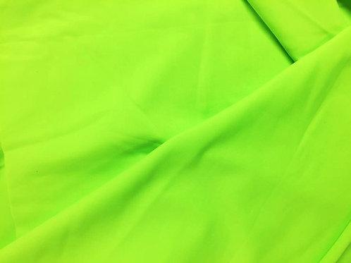 Verde flúor lycra mate