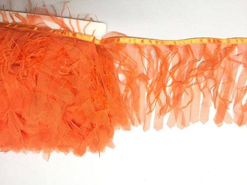 Fleco de plumas y tul (diversos colores)