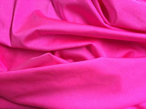 Lycra  brillo rosa flúor - retal