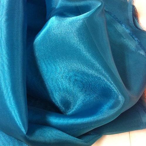 Organza cristal  esmeralda