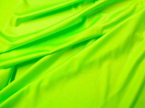 Verde flúor lycra brillo