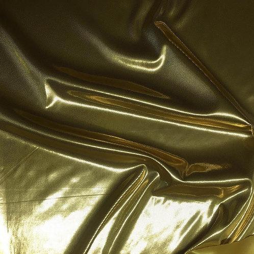 Tejido dorado no elástico