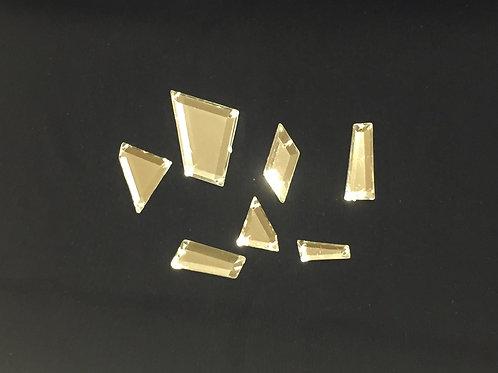 cristales acrílicos de espejo - color cristal