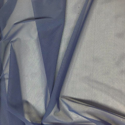 Azul acero tul