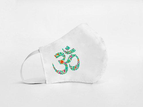 Mascarilla personalizable y lavable-yoga ohm