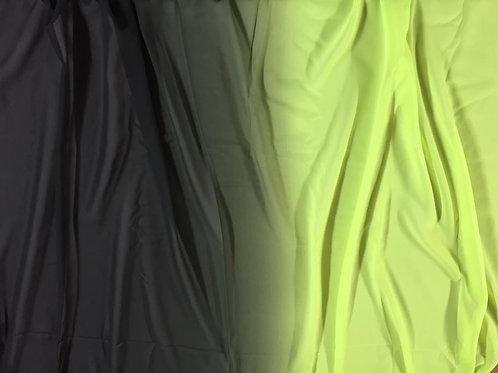 Gasa amarilla y negra