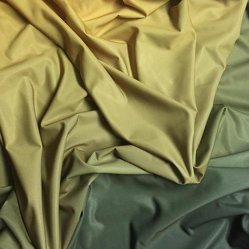 Lycra degradada en verde y amarillo