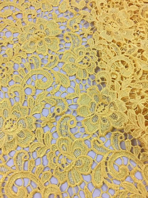 Guipur amarillo