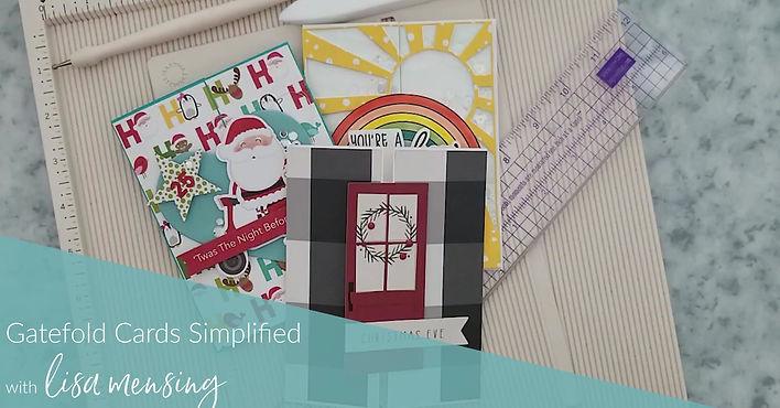 Gatefold Cards Simplified