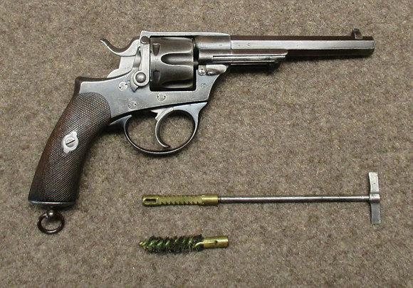 revolver PIRLOT FRERES LIEGE mod. 1872/78 cal. 10.4mm