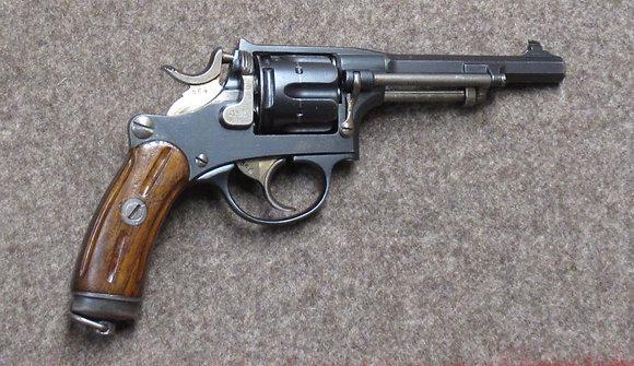 revolver W+F mod. 1882 cal. 7.5mm