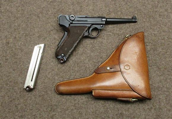 pistola W+F mod. 1929 guancette marroni cal. 7.65para