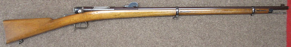 fucile SIG/HEBLER mod. 1884 prototipo cal. 8mmx45 Hebler
