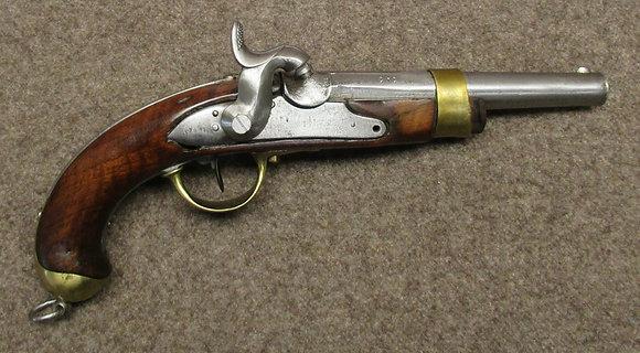pistola percussione 1817/42 cant. Argovia cal. 17,3mm