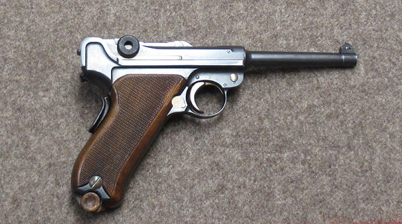 pistola W+F mod. 06/24 cal. 7.65 parabellum