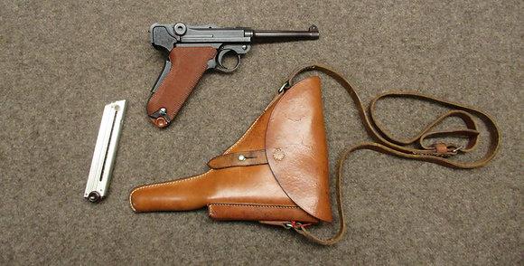 pistola W+F mod. 1929 guancette rosse cal. 7.65para