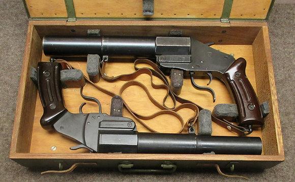 pistola lancia razzi 1917/38 cal. 4mm