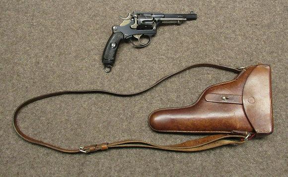 revolver W+F mod. 1882 privato dogane  cal. 7.5mm