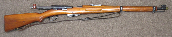 carabina W+F mod. 1908, cal. 7.5x55