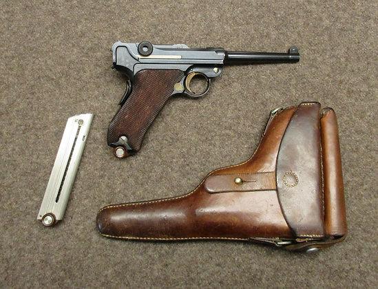 pistola DWM mod. 00/06 croce nello scudo cal. 7.65para