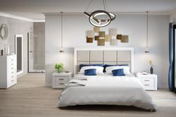 Dormitorio Crema Blanco