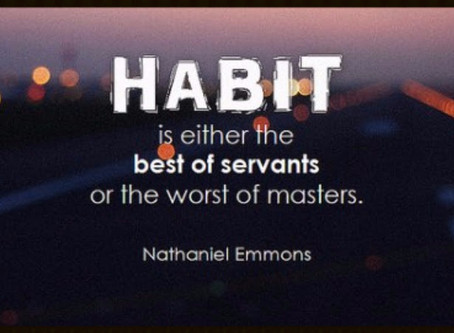 Habits: The Building Blocks of Confidence and Productivity
