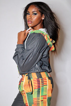 Kente Color Block Pant