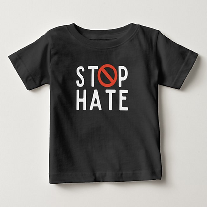 Stop Hate Toddler Tee