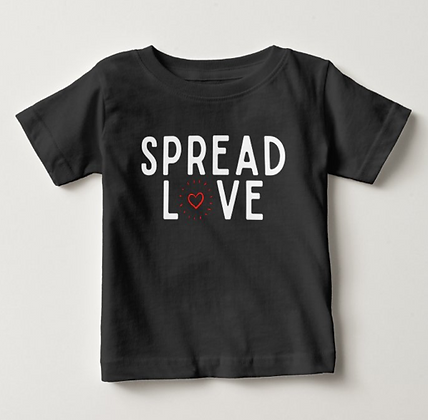 Spread LOVE Toddler Tee